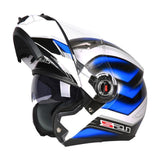 LS2 Helmets 8 / L LS2 FF370 Men Flip Up Motorcycle Helmet