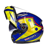 LS2 Helmets 9 / L LS2 FF370 Men Flip Up Motorcycle Helmet