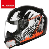 LS2 Helmets Black orange charge / XL LS2 FF352 Full Face Motorcycle Helmet