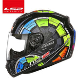 LS2 Helmets Color rotary table / L LS2 FF352 Full Face Motorcycle Helmet