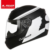 LS2 Helmets White huge / L LS2 FF352 Full Face Motorcycle Helmet