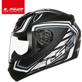 LS2 Helmets White proposal / XL LS2 FF352 Full Face Motorcycle Helmet