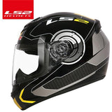 LS2 Helmets White yellow Air / XL LS2 FF352 Full Face Motorcycle Helmet