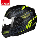 LS2 Helmets Yellow crystal / XL LS2 FF352 Full Face Motorcycle Helmet