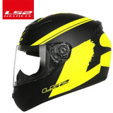 LS2 Helmets Yellow huge / L LS2 FF352 Full Face Motorcycle Helmet