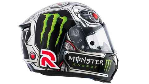 HJC RPHA-10 Speed Machine Jorge Lorenzo Motorcycle Helmet