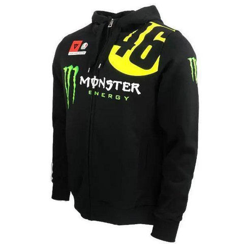 Valentino Rossi VR46 Monster Energy 46 Moto GP Hoodie Official