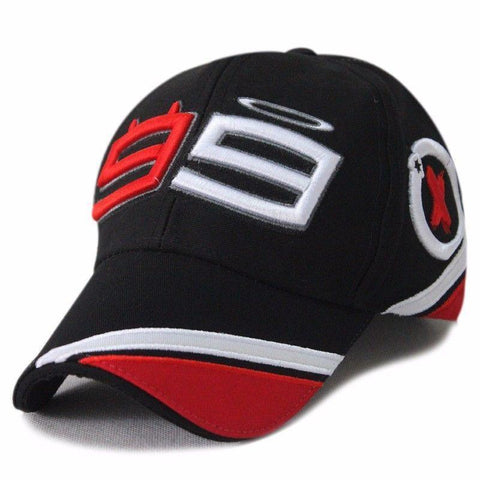 MOTO GP DEKTON Jorge Lorenzo 99 Cap Baseball Hat Embroidery Motorcycle Racing