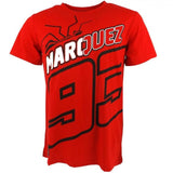 Moto Gp t-shirt Marc Marquez 93 Moto GP T-Shirt Red paddock apparel Official 2018