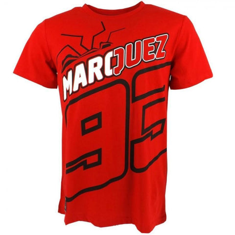 Marc Marquez 93 Moto GP T-Shirt Red paddock apparel Official 2018
