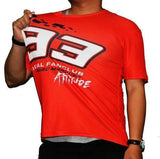 Marc Marquez I Am Attitude 93 fans memorial quick dry T-shirt