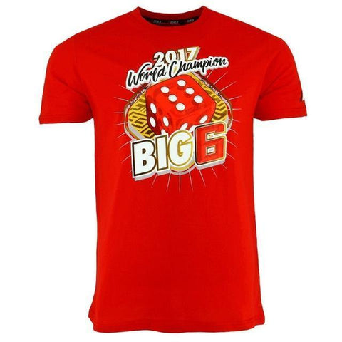 Marc Marquez World Champion Big 6 T-Shirt
