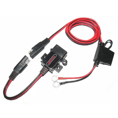 Motopower MP0609A 3.1Amp Waterproof Motorcycle USB Charger SAE to USB Adapter