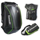 Ogio Backpack and 2 bags Kawasaki Ogio No Drag Mach 3 Semi Hard backpack 24L Aerodynamic Bag