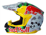 Red Bull Helmets M / Green Red Bull Motocross Helmet Off Road Dirt Bike MX