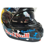 Red Bull Fox Racing Full Face Modular Helmet