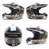 RockStar Helmets Rockstar Energy Drink M13 Assault Off-Road Dirt bike motocross ATV Motorcycle Helmet