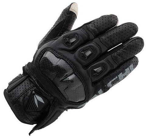 RS Taichi RST410 Armed Leather Mesh Gloves