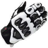 Rs Taichi Gloves M / White/Black RS Taichi RST422 LEATHER GLOVE