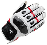 Rs Taichi Gloves M / White/Red RS Taichi RST410 Armed Leather Mesh Gloves