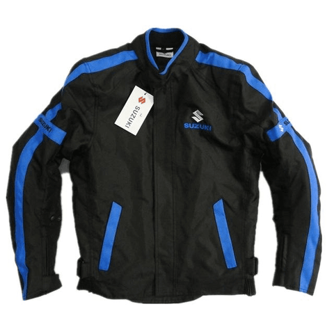 Suzuki motorcycle textile oxford waterproof jacket with protectors