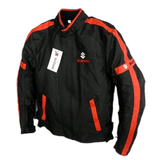 Suzuki Jackets Red / M Suzuki motorcycle textile oxford waterproof jacket with protectors