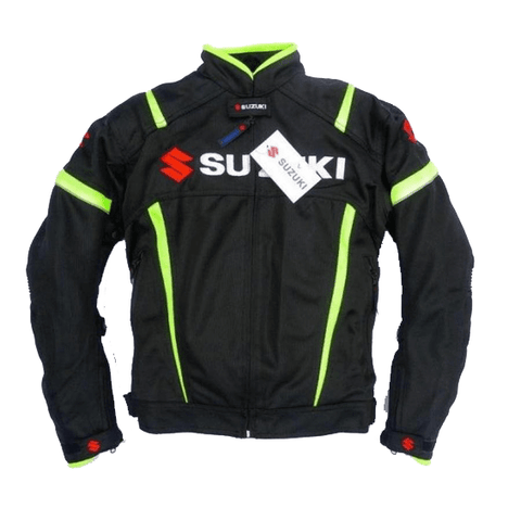 Suzuki motorcycle textile oxford waterproof jacket