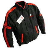 Suzuki Jackets Suzuki motorcycle textile oxford waterproof jacket with protectors