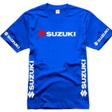Suzuki t-shirt XS / Blue Suzuki Summer Short Sleeved T-Shirt
