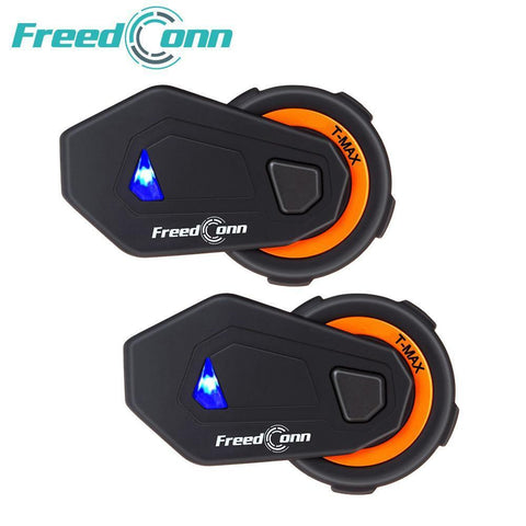2 pcs T-MAX motorcycle helmet intercom