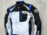 yamaha jacket S / Blue Yamaha YAS35-R Racing Team Oxford Mesh Jacket