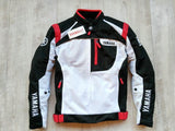 yamaha jacket S / Red Yamaha YAS35-R Racing Team Oxford Mesh Jacket