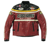 Yellow corn Jackets Red Black / M Yellow Corn BB-5304 Motorcycle Windproof PU Leather JACKET