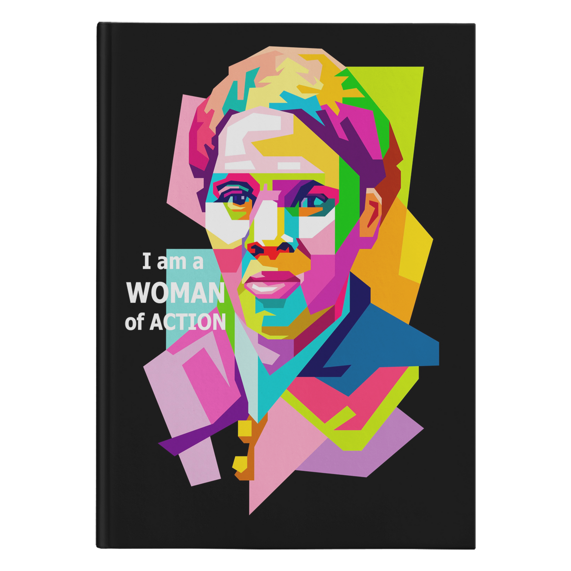 Harriet Tubman Woman of Action black journal