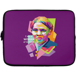 Harriet Tubman: A Woman of Action  Laptop Sleeve -  13 inch