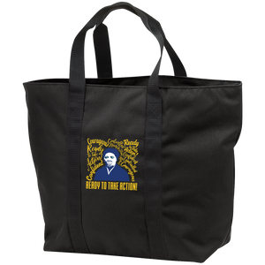Harriet Tubman Ready to Take Action All Purpose Tote Bag