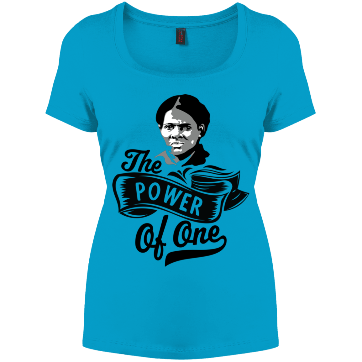 The Power Of One! Women's Perfect Scoop Neck Tee
