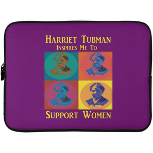Harriet Tubman Support Women Laptop Sleeve - 15 Inch