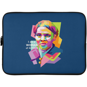 Harriet Tubman: A Woman of Action  Laptop Sleeve - 15 Inch