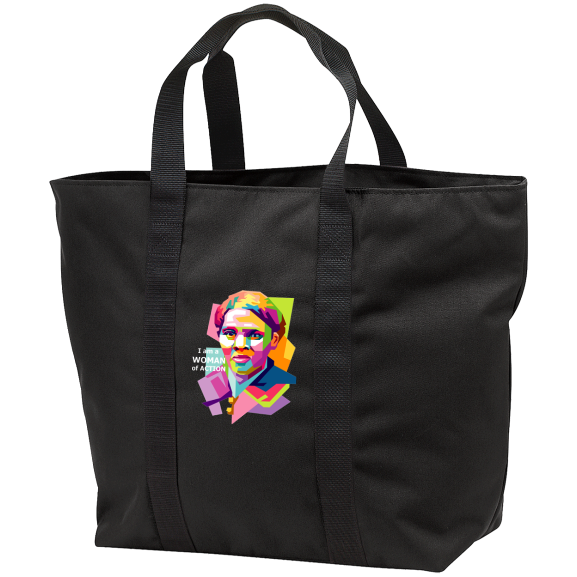 Harriet Tubman: A Woman of Action - All Purpose Tote Bag
