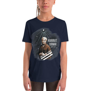 Harriet Tubman Aim for the Stars Youth Short Sleeve T-Shirt