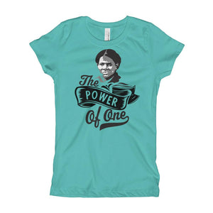 Harriet Tubman The Power of One Girl's T-Shirt