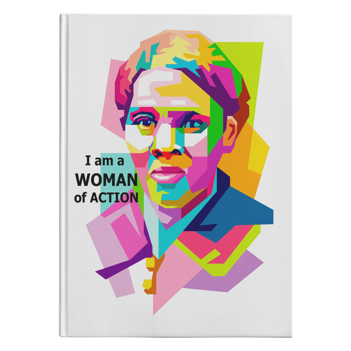 Harriet Tubman Woman of Action white journal