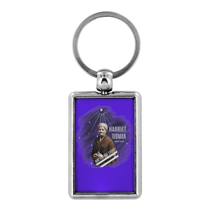Harriet Tubman Aim for the Stars Key Chain