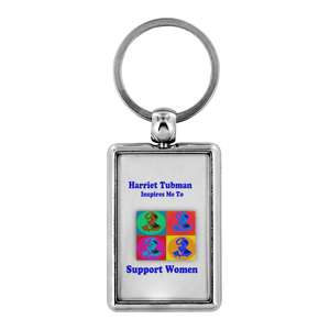 Harriet Tubman Support Women Keychains