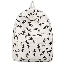 Women Canvas backpacks teenage girls