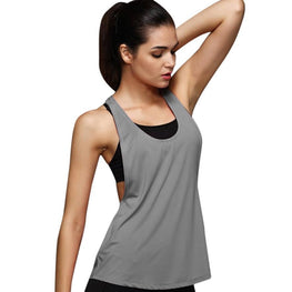 Women Breathable Fitness Sleeveless