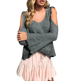Women Sweaters Pullover Autumn Knitted