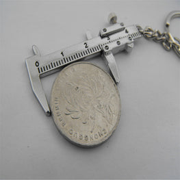 Movable Vernier Caliper Ruler Model Keychain