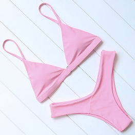 Swimwear Sexy Push Up Micro Bikinis Set